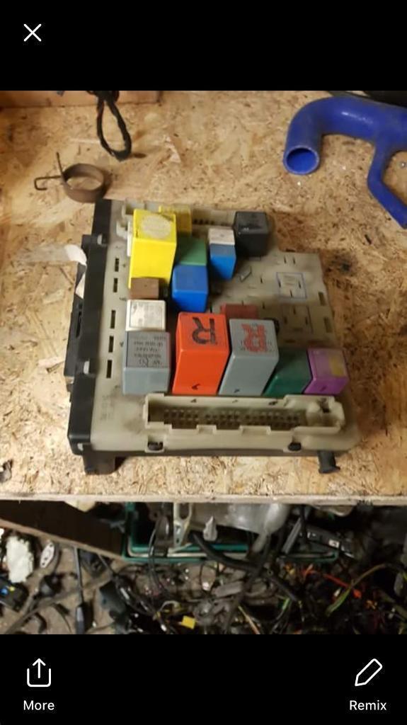 escort mk5 rs 2000 fuse box rs turbo xr3i