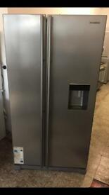 Samsung American fridge freezer silver