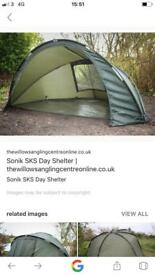 Sonik sks day shelter carp fishing