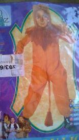Rubie's The Wizard Of Oz Cowardly Lion Fancy Dress, Small, new