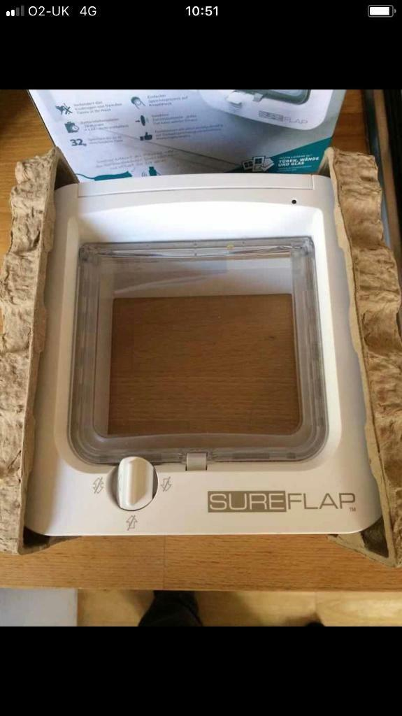 Micro chip cat flap - never used