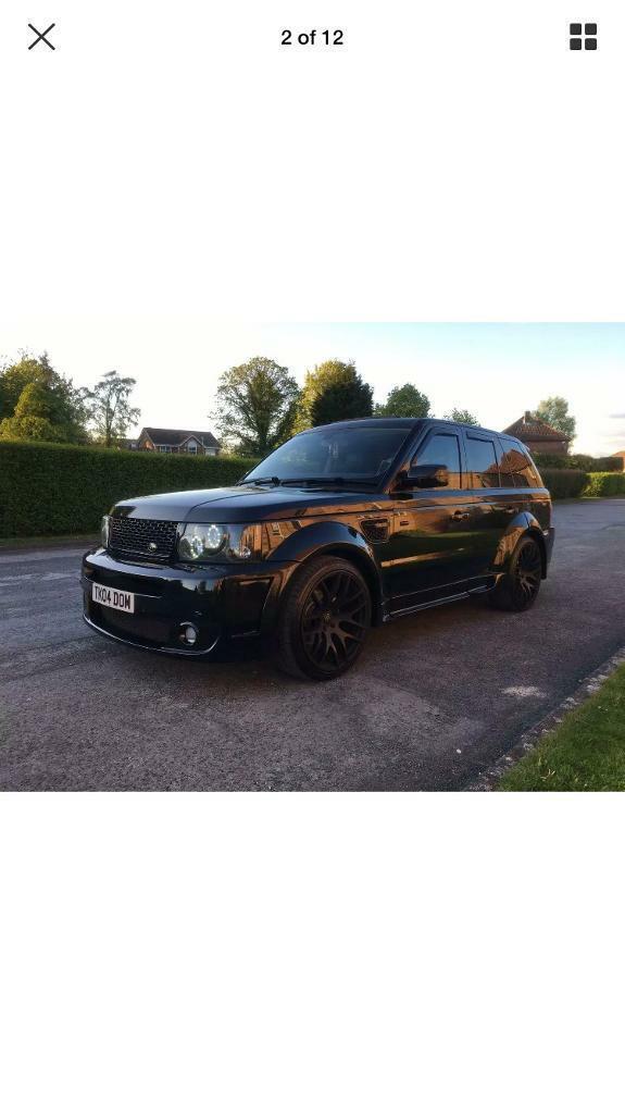 Range Rover Sport Onyx Wide Body | in Fulwood, Lancashire | Gumtree