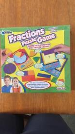 Kids educational board game