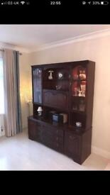 Mahogany Rossmore Wall unit *1st offer gets*