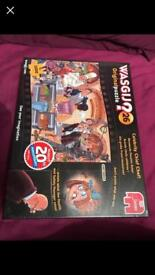 3 brand new unopened wasjig puzzles