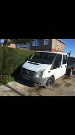 Ford transit tipper crew van 2006 120k brand new timing chain fitted