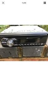 Pioneer DEH 150MP Stereo with front aux port