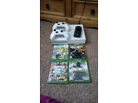500GB white Xbox one S and extras.