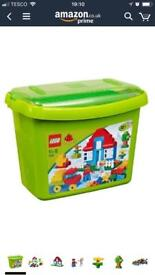 Lego Duplo Deluxe Brick Box (5507) PLUS 2 additional sets - for sale, £35