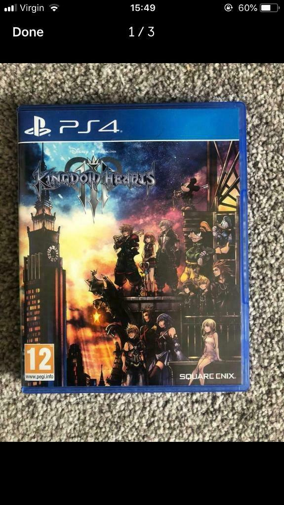 Kingdom hearts PS4 game  | in Washington, Tyne and Wear | Gumtree
