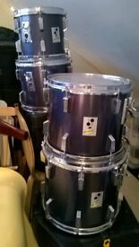 Sonor Performer Hanging floor toms 13 x 11 and 14 x 12