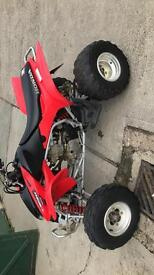 Honda trx 450 off road quad