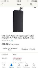 iPhone 6s screen brand new