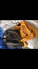 Leather jackets UK8