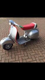 1962 original Vespa Sportique 150cc registered as 125cc