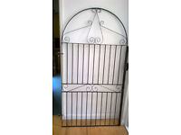 Tall Wrought Iron Arched Gate (Marlborough)
