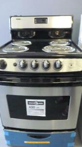 211- Four Cuisiniere 24''  AVEC BRULEURS DANBY WITH COIL Stove Oven