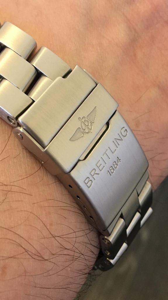Acheter Authentic qualité de la marque 50% de réduction Breitling pro 2 brushed watch bracelet | in Sowerby Bridge, West Yorkshire  | Gumtree