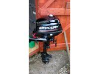 MERCURY 3.5 hp 4 Stroke Outboard Engine F 3.5hp