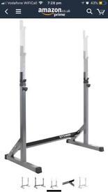 Squat rack & barbell set