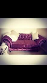 4 Seater & 2 Seater Chesterfield Sofa's