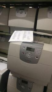 Lexmark T644 T644N Laser printer, Ethernet USB,parallel interface.