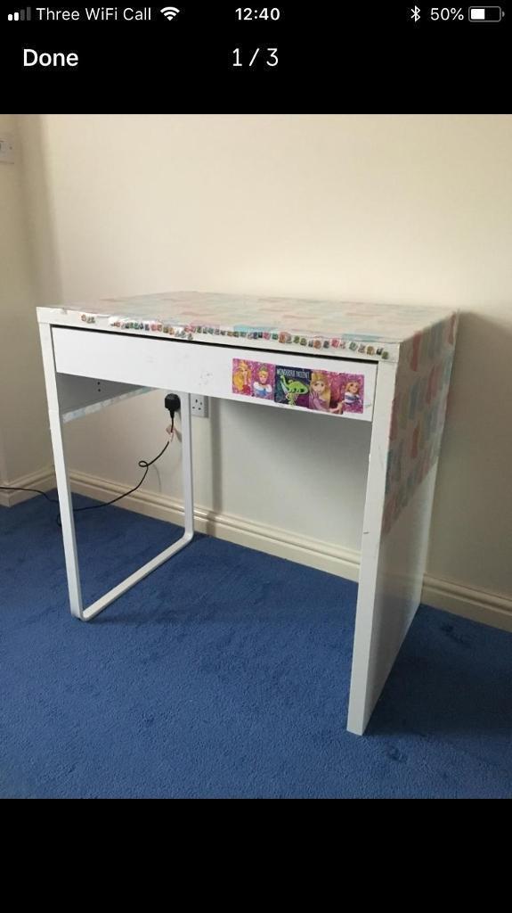 Ikea Micke White Desk