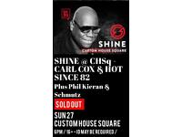 Carl Cox Tickets for sale!!!