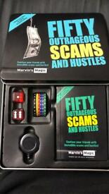 Marvin's Magic Fifty Outrageous Scams and Hustles Magic Box Set