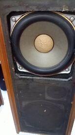 vintage Bull speakers