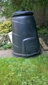 very large compost bin