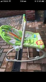 Fisher price infant and toddler rocker.