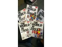 THE ECONOMIST PUBLICATION - MINT CONDITION - All for £10 - 1990, 1993, 1997, 1998, 2000