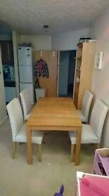 IKEA Dining set (Table + 4 Chairs)