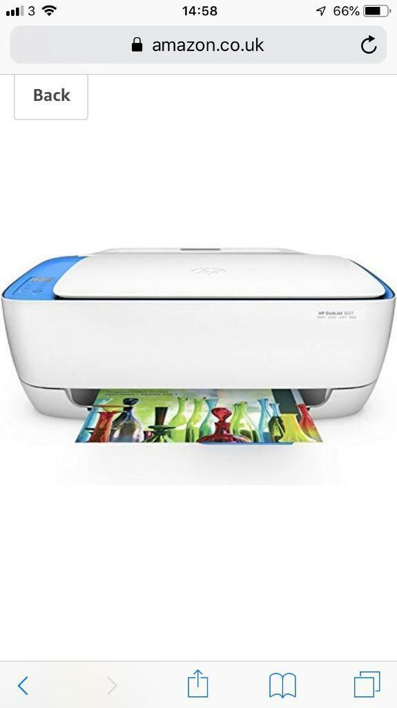 HP Deskjet 3637 all in one WiFi printer | in Basford, Nottinghamshire |  Gumtree
