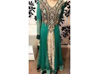 Asian dress lenga salwar kameez wedding clothes party wear