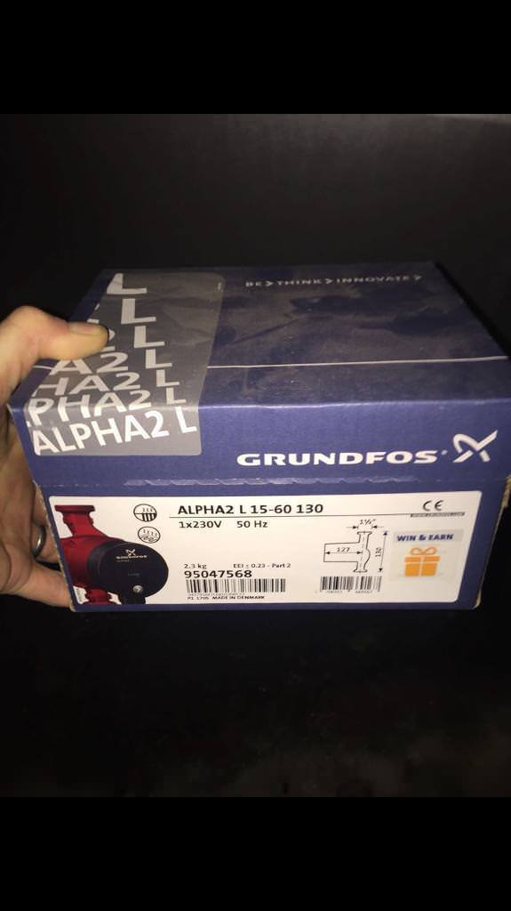 Grundfos Alpha 2 15-60 heating Pump