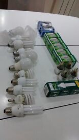 Selection of fluorescent bulbs