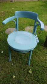 Retro Vintage Painted Chair - Bentwood - Cheap!