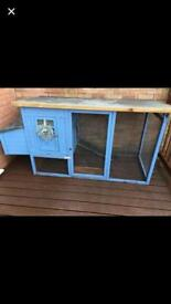 Chicken coop / rabbit hutch