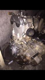 Wr400 engine