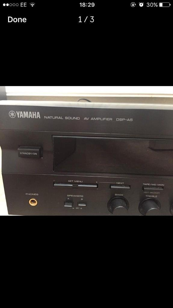 Yamaha DSP-A5 Amplifier