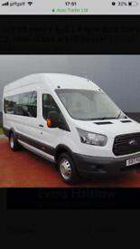 MINIBUS HIRE any time anyplace any where