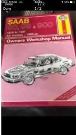 Haynes Saab 90/99/900 manual