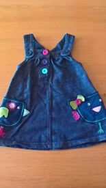 Blue Zoo debenhams baby dress 3 - 6 months hardly worn baby clothes