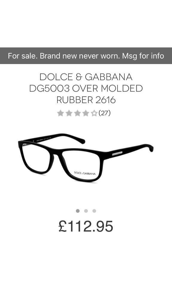 0fbcd924d4e3 Dolce and gabbana glasses frame. Hackney