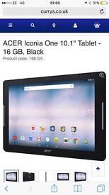 """Acer 10"""" tablet"""