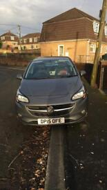 2015 plate Vauxhall Corsa Design 1.2i. 44,300 miles