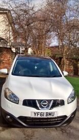Nissan Qashqai+2 1.6 dCi Tekna 4x2 5dr Smoke Free Pet Free Lovely Family Car