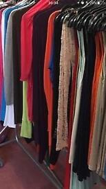 Ladies + sized clothes